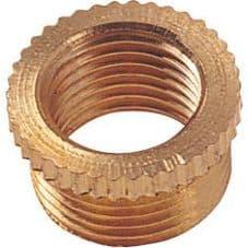 "Dencon 1.2"" to 10 mm Brass Reducer - Pack 20"